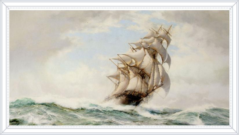 Доусон Монтегю «Трудное плавание», 1895-1973 гг.