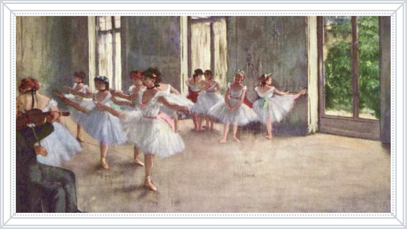 Эдгар Дега «Репетиция балета», 1878 г.