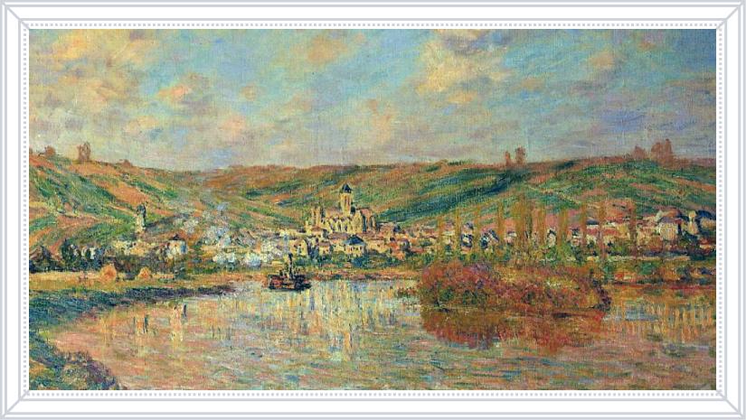 Клод Моне «Вторая половина дня в Ветейе», 1880 г.